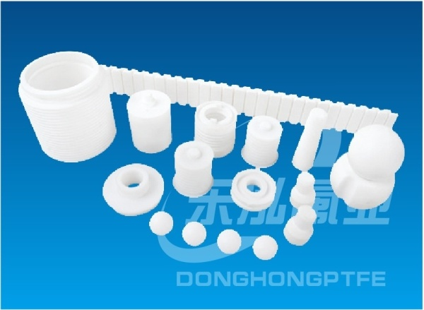 Teflon Plastic Products PTFE Irregular Parts