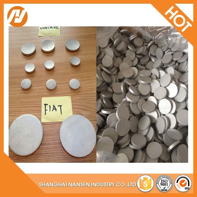 Purity Alloy 1070 Purity 99.7% Manufacture Shot Blasting Surface Flat Aluminium Slugs