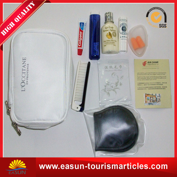 Hotel Bathroom Amenity Kit Travel Amenities for Airline