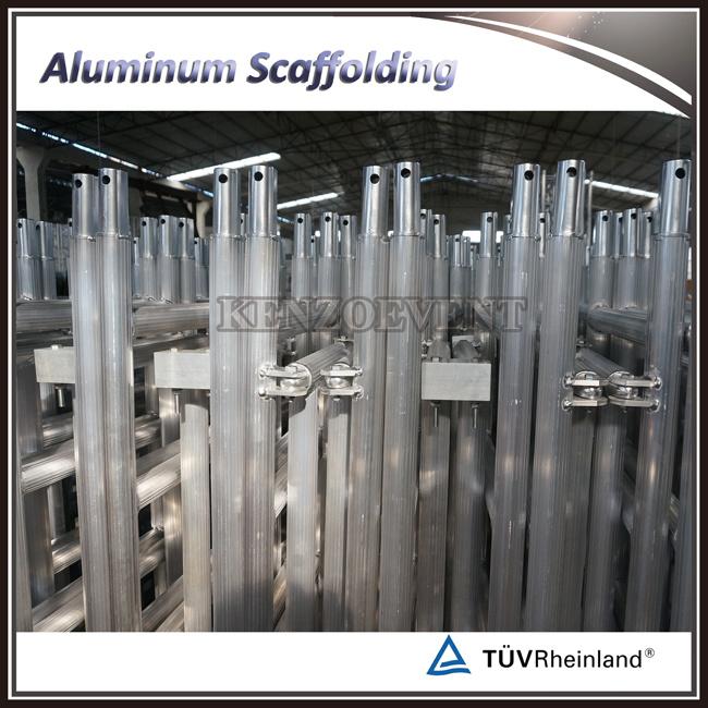 Mobile Aluminum Folding Scaffolding for Construction