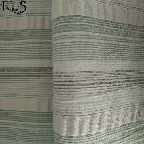 Cotton Woven Seersucker Yarn Dyed Fabric for Shirts/Dress Rls50-22se