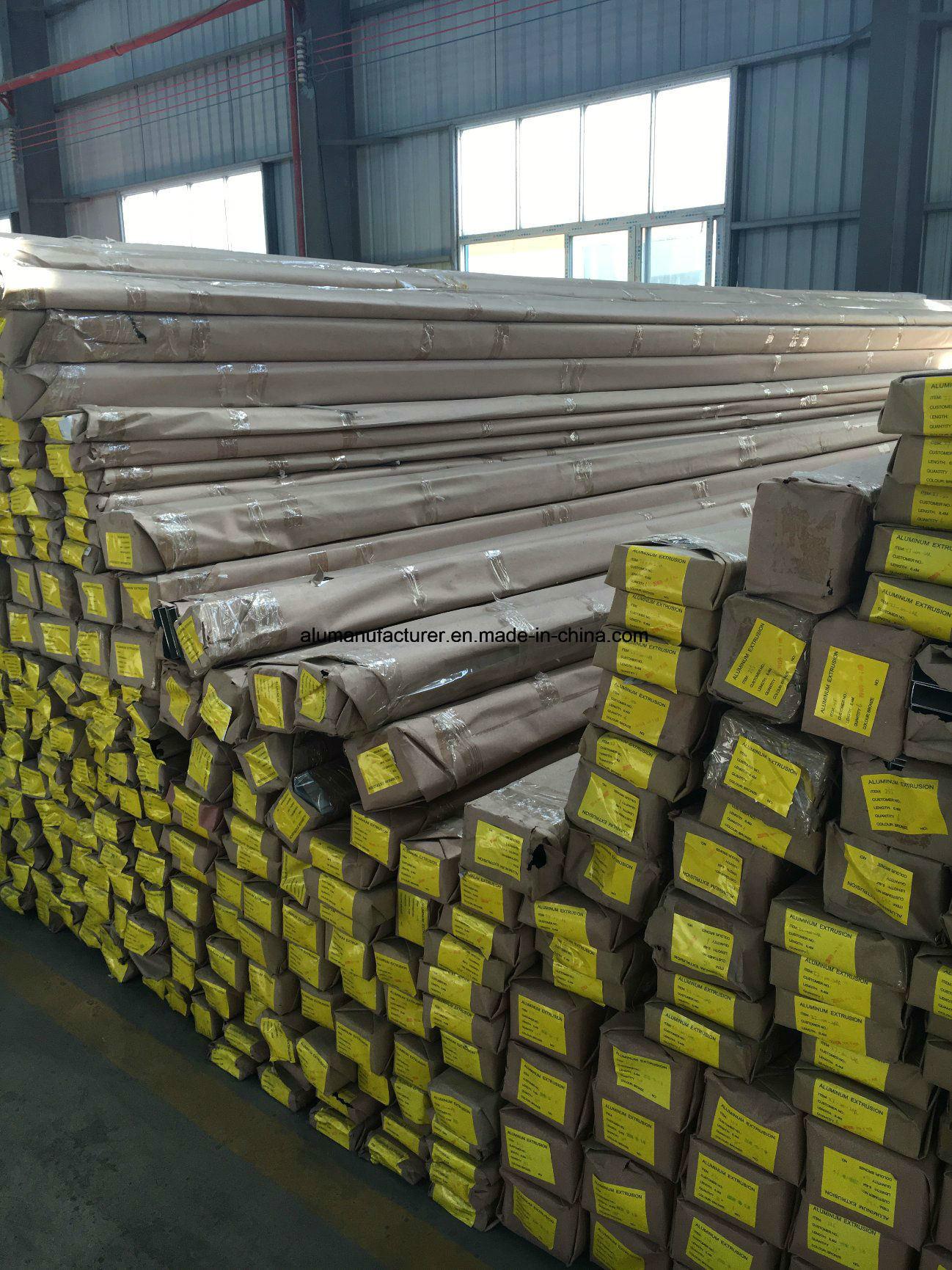 Philippine Aluminium Alloy Extrusion Profile for Door and Window