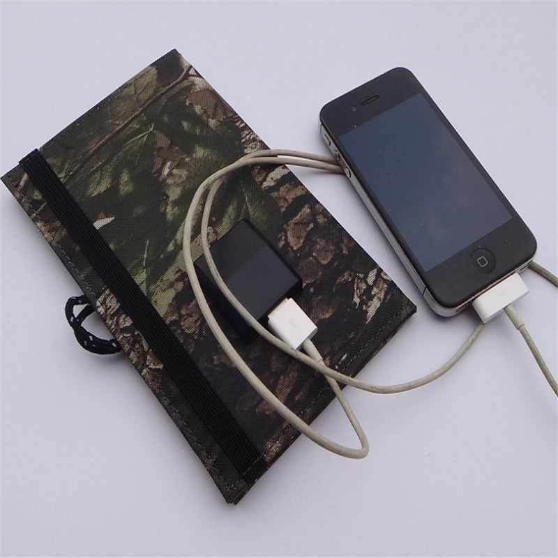 4W Solar Charging Panel Foldable Battery Pack