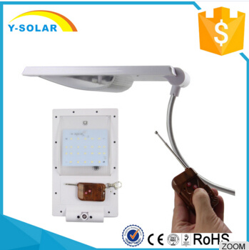 24 LED Waterproof&Light Control Solar Lamp with Remote Control SL1-1-24-R