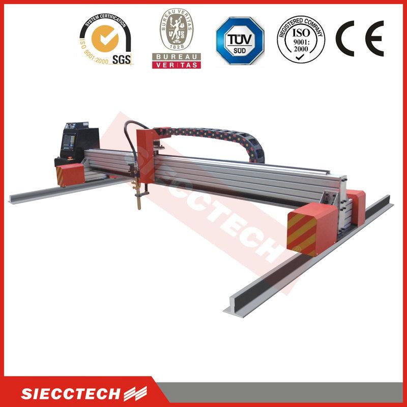 Trade Assurance 1300X2500mm CNC Plasma Cutting Machine with Pmx105 Plasma Generator Made in USA to Cut Metal Max. 32mm Thickness