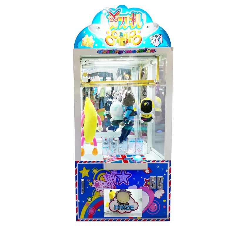 Scissors Cutting Game Machine Toys Arcade Game Machine.