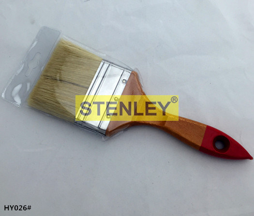 Wooden Handle Sharpen Paint Brush with The Silk with Bristles
