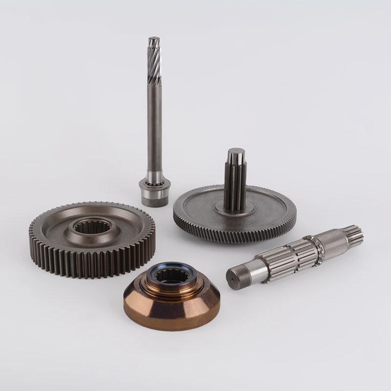Motorcycle Parts Counter Wheel Gear Machining Driving Gear Shaft