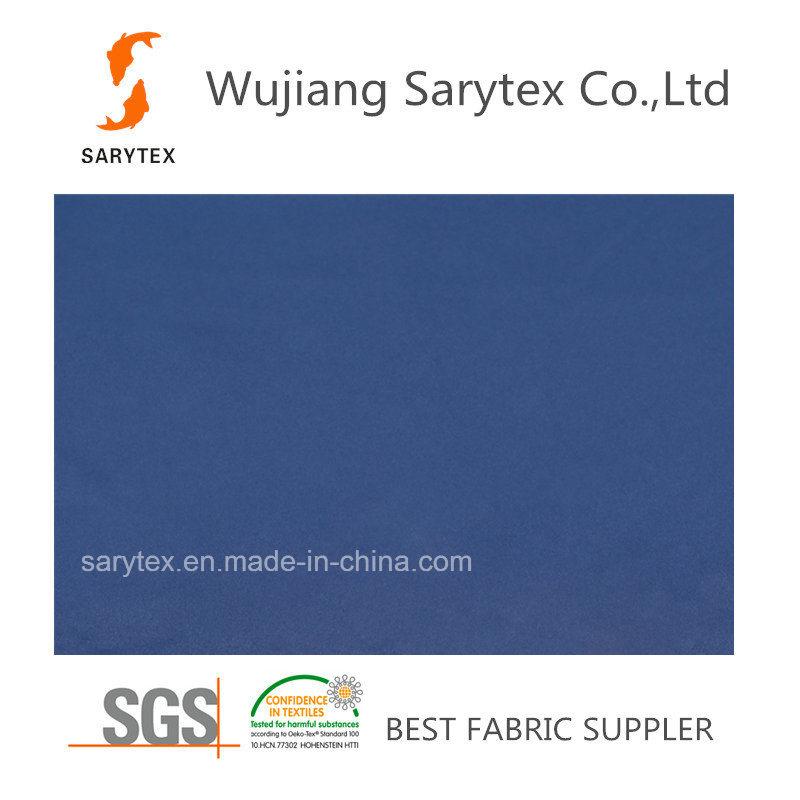 100% Polyester Satin Fabric/Pongee Fabric/Taffeta Fabric for Downproof Garment