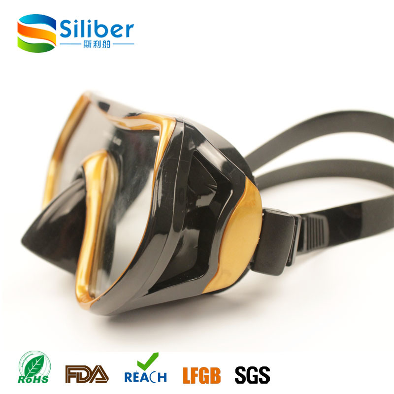2016 Fashionable Waterproof Snorkel Diving Mask/Goggles for Adult