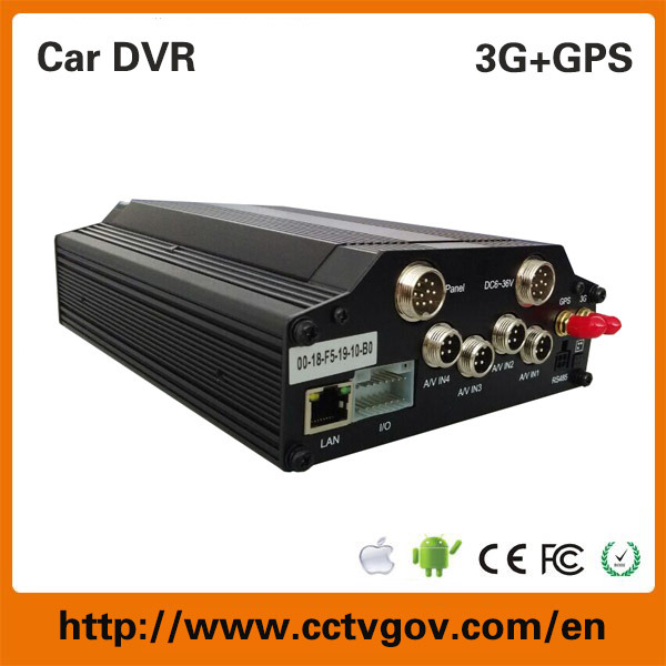 Mobile Manual Car Camera HD DVR Recorder with 3G 4G GPS WiFi