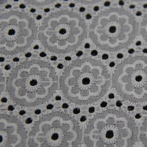 New Design Openwork Embroidery Fabric for Clothing