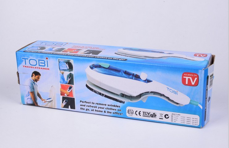 Tobi Travel Steam Iron Brush