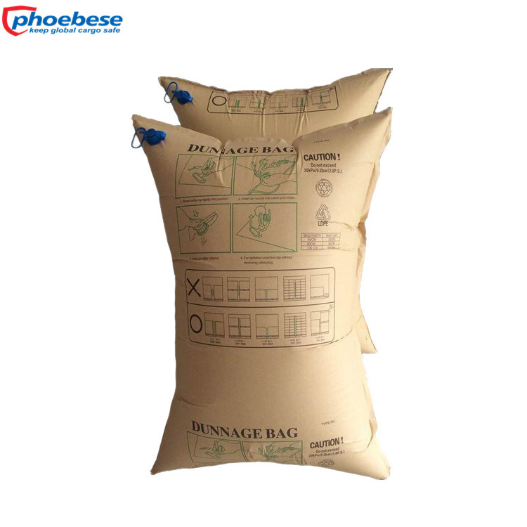 Different Size of Dunnage Bags for Mexico Market