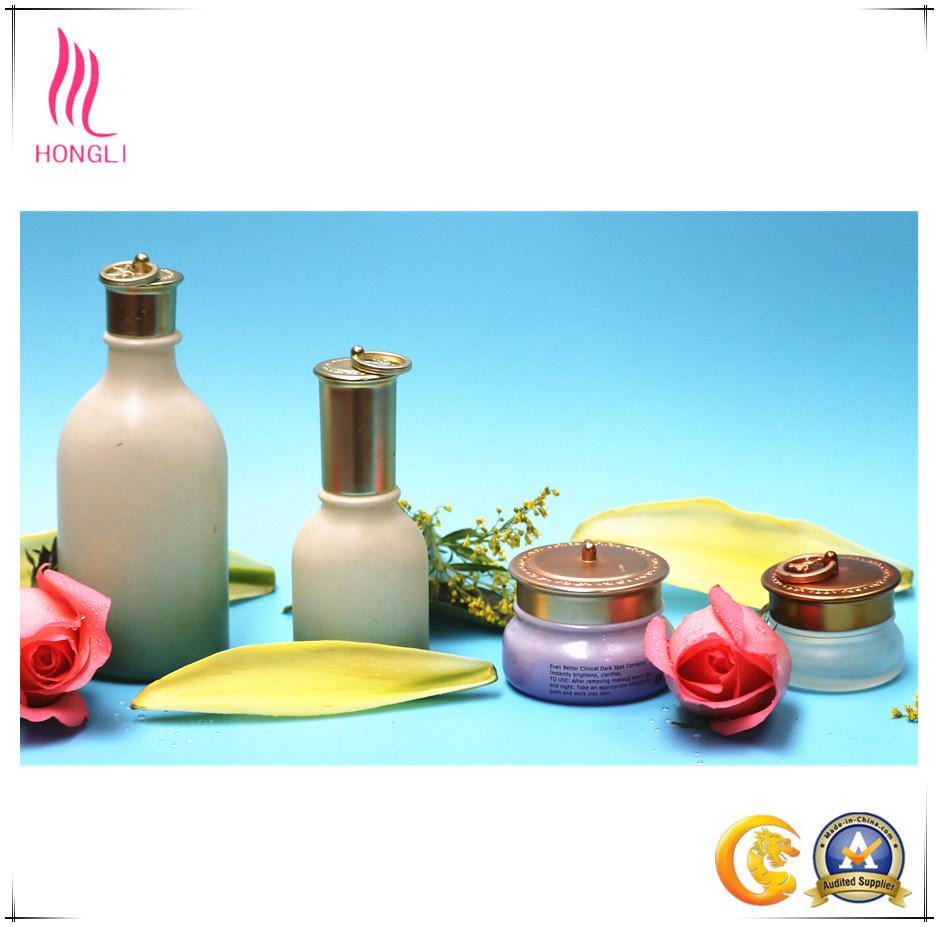 Fancy Glass Bottle Set for Brand Cosmetic Packaging