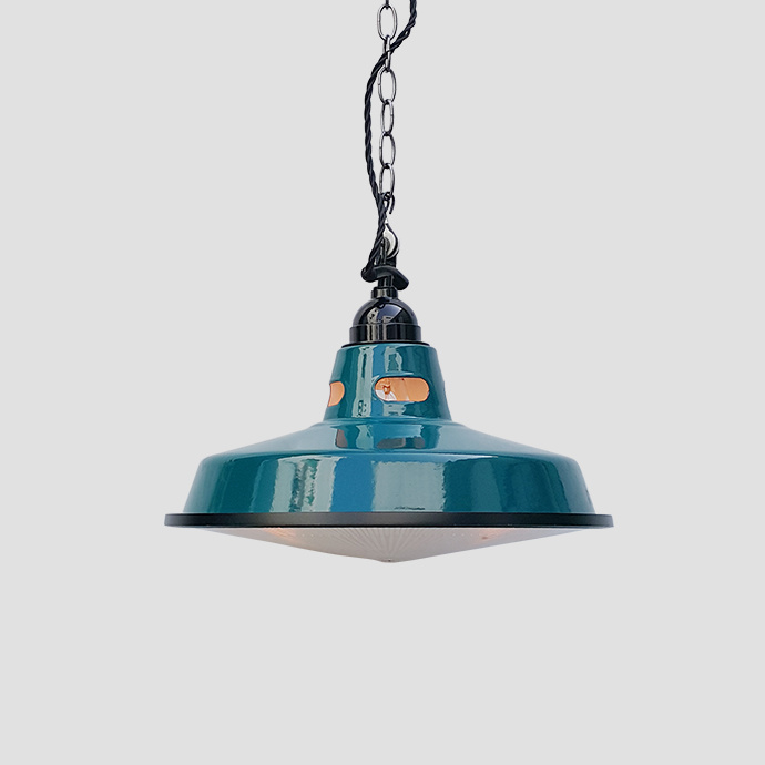 Enamel Pendant Lightshades Warehouse Ceiling Pendant Light