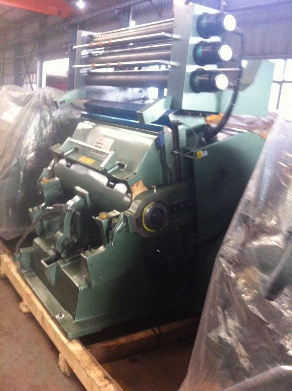 Tymk-1200 Hot Foil Stamping Machine & Die Cutting Machine