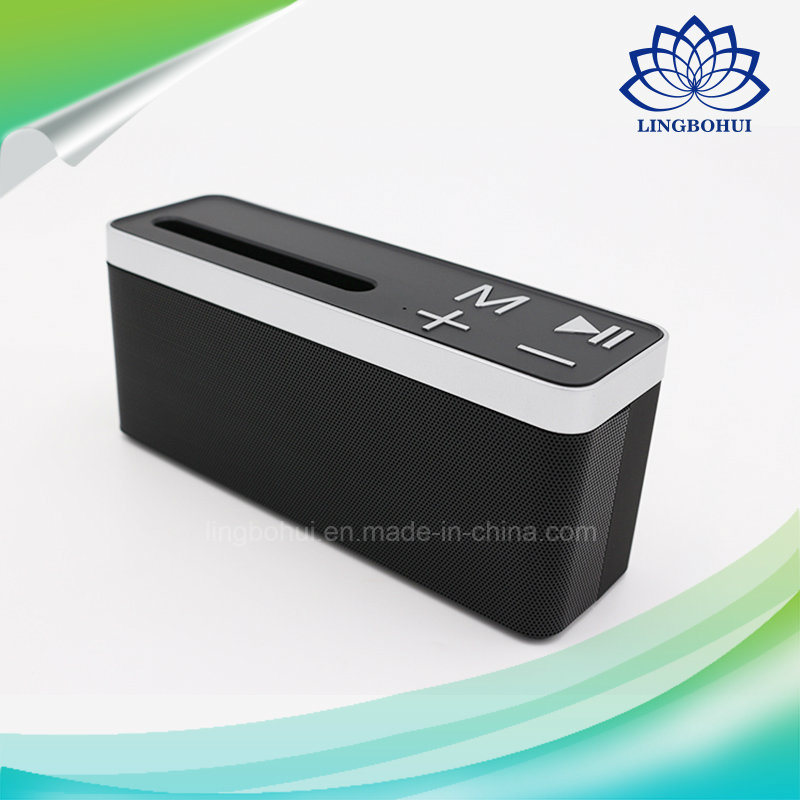 Bt-27 ABS Shell Phone Holder Mini Audio Bluetooth Loudspeaker
