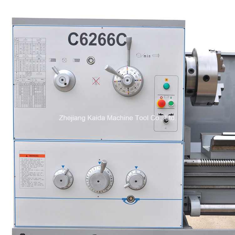 CE Approved Precision Metal Lathe Machine C6266c