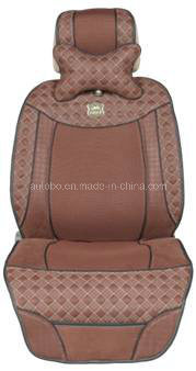 Leatherette Car Seat Cover Flat Shape
