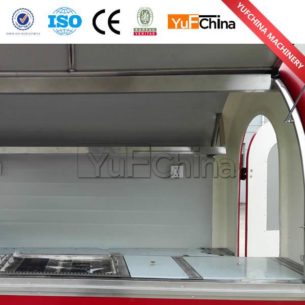 China Lowest Price New Design Snack Car for Sale