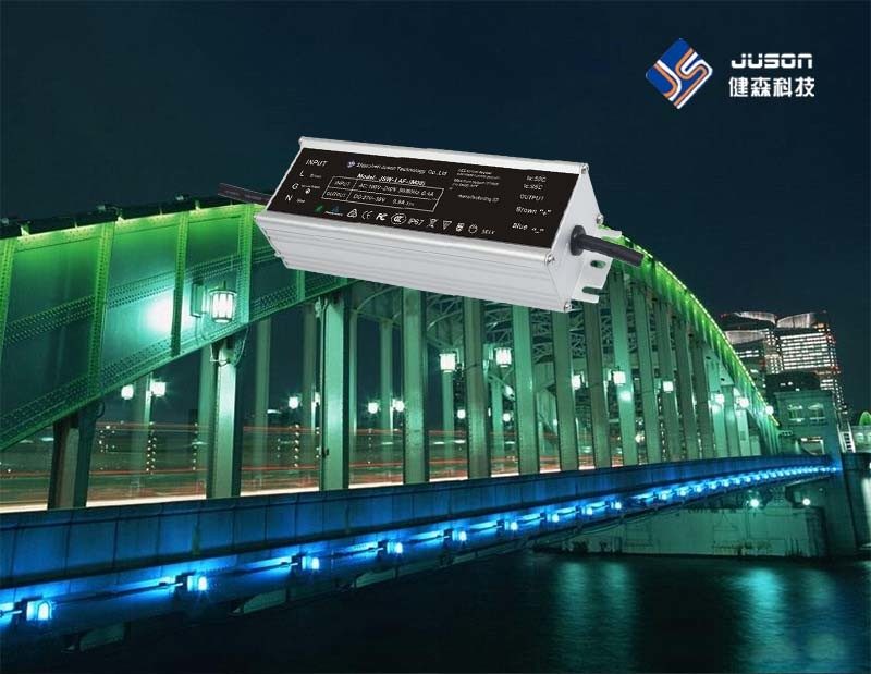 Surge Protection 24VDC Power Supply LED Street Light Driver