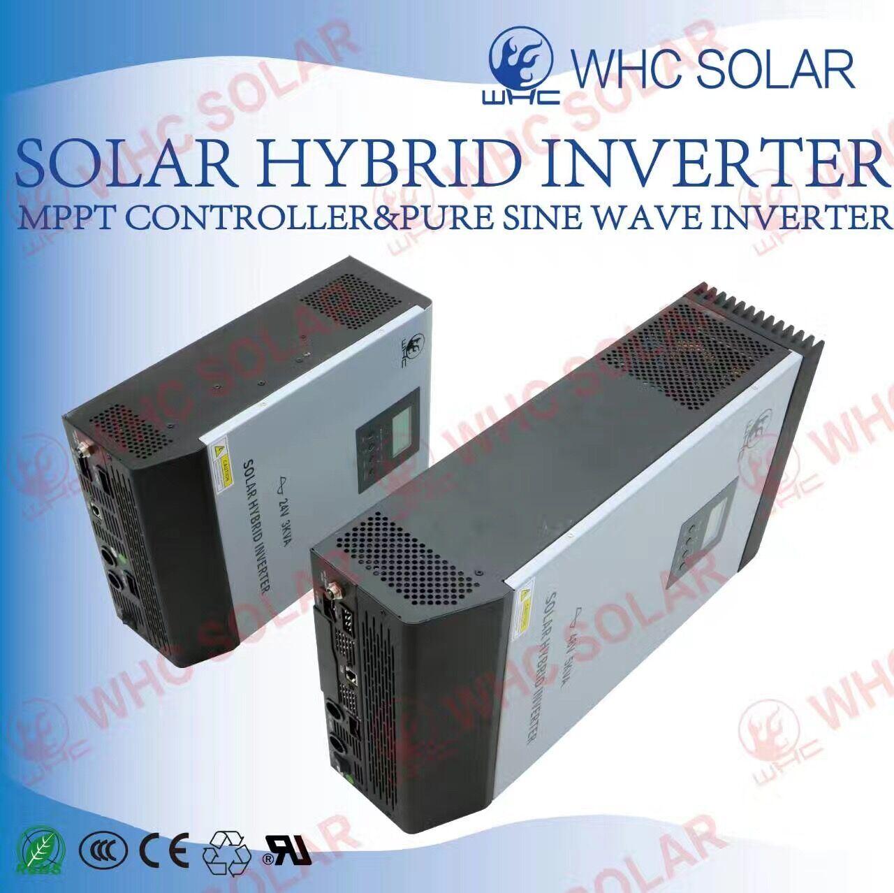 Built in MPPT 3000va Output Power Hybrid Solar Inverter