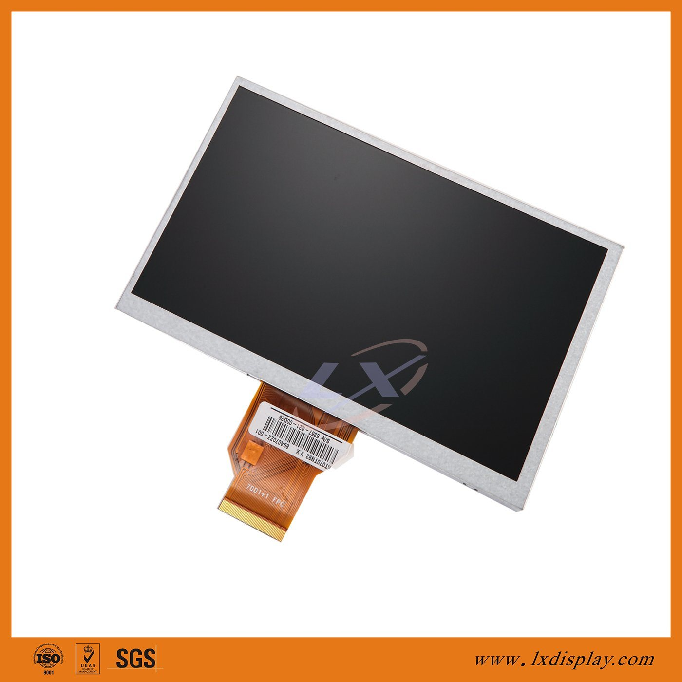 "Compatible Innolux AT070TN92 7"" 800*480 Resolution 50 Pins LCD Display Module"