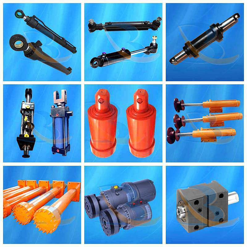 High Pressure Hydraulic Cylinders with a Front Flange Mount