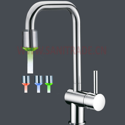 china 2011 new led kitchen faucet china led kitchen