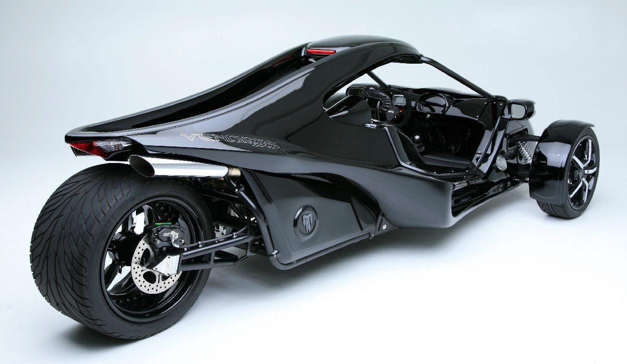 Custom Built Motorcycles Trike