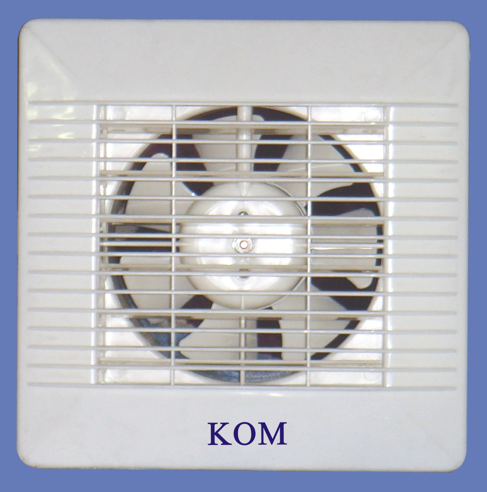 Bathroom Exhaust Fan with Front Shutter and Pull Cord Switch (APC20 ...