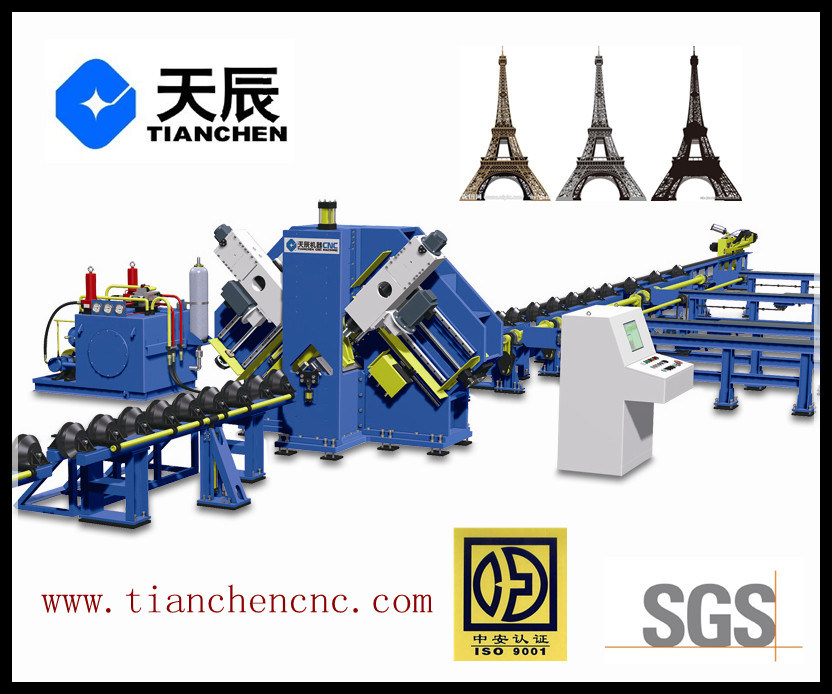 CNC Angle Drilling Machine for Steel Towers Model Bl2532