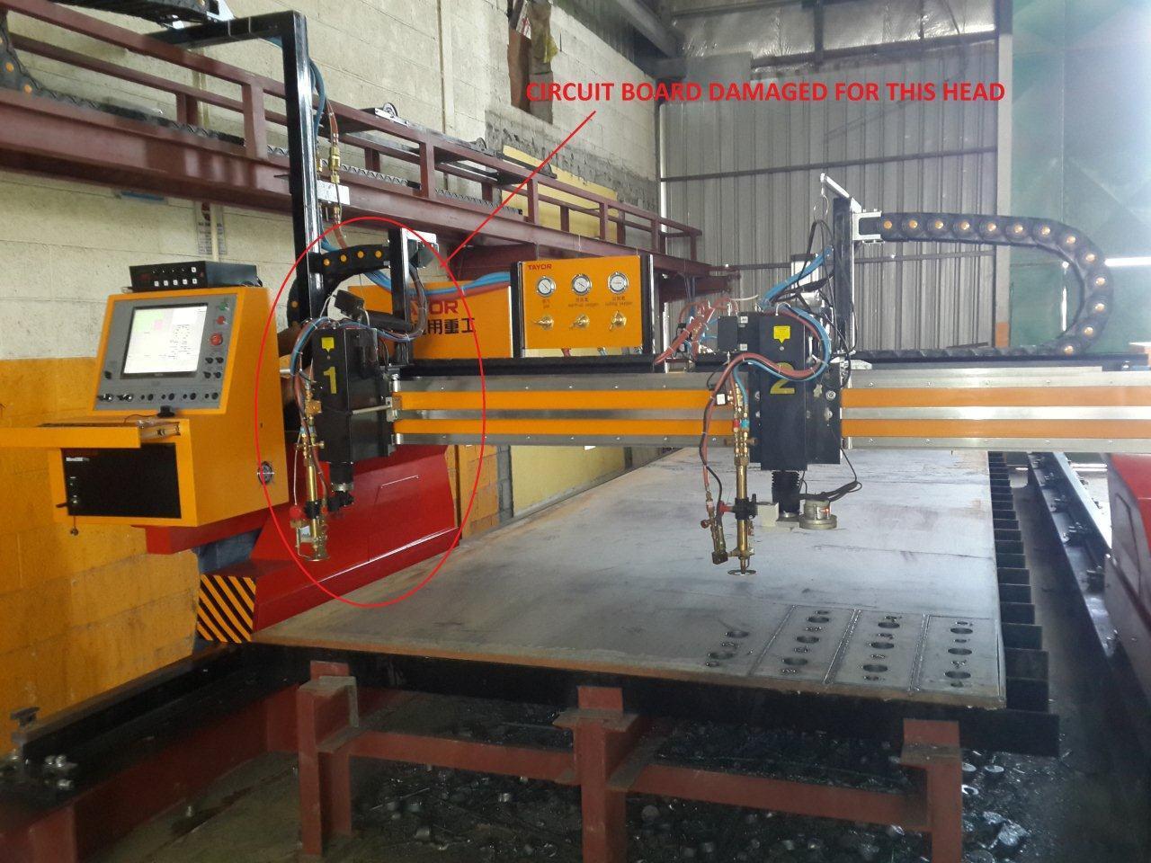 Plasma Cutting Machine CNC Cutting Machine Flame Cutting Machine Gas Cutting Machine
