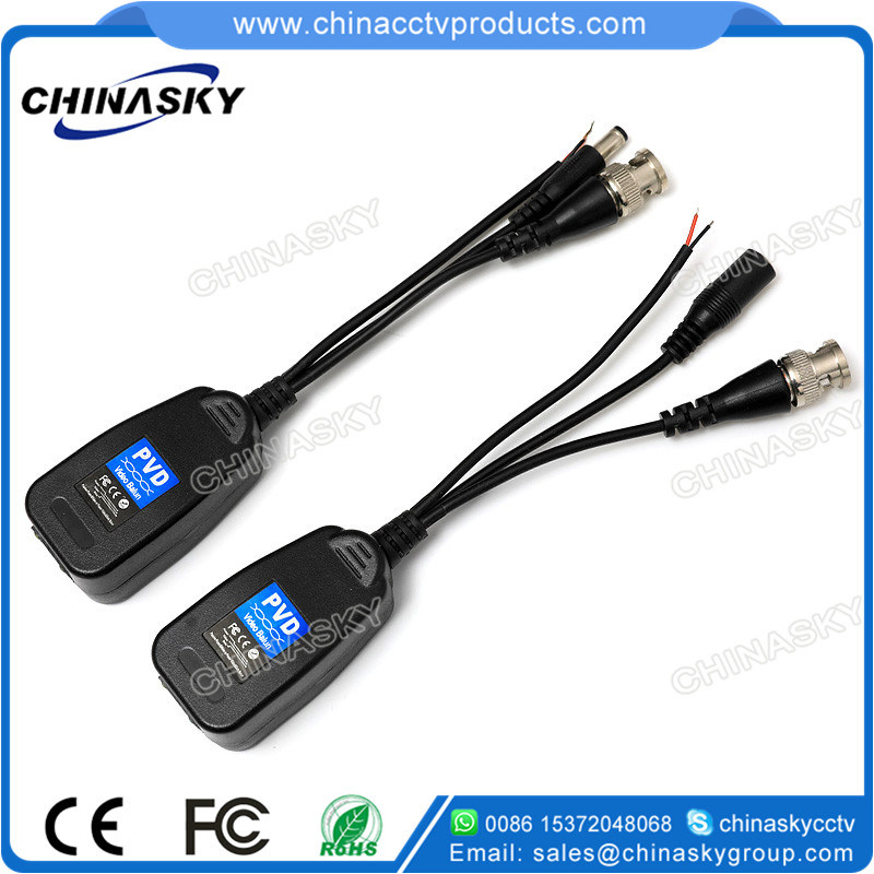 1 Channel HD – Cvi / Tvi / Ahd CCTV Passive Power Video & Data Balun (PVD22H)