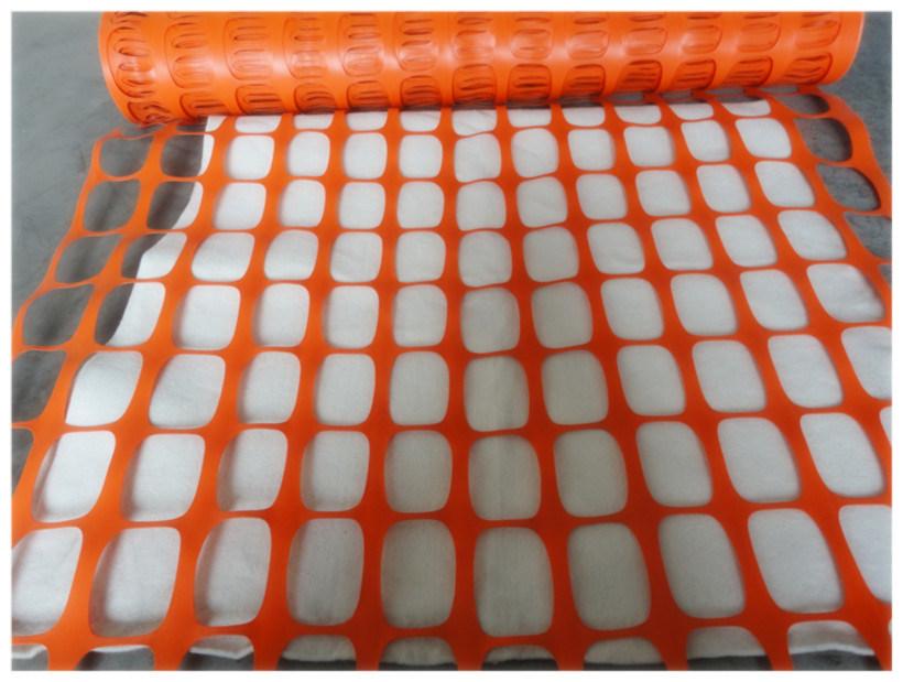 China orange safety fence warning