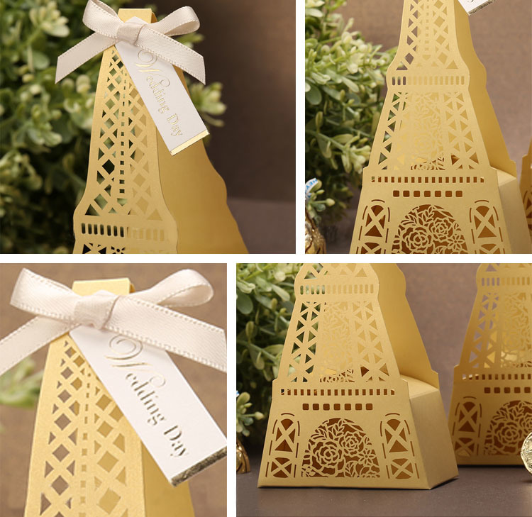 High Quality Different Colour Gift Boxes for Wedding (YY-F0001)