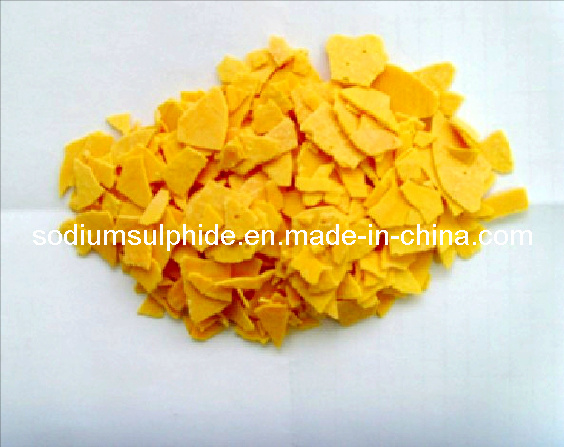 Sodium Sulphide Low Iron Grade-Yellow Flakes