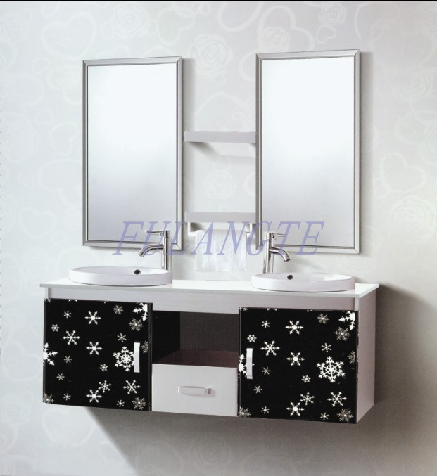 cabinet vanity 8058 china stainless steel bathroom cabinet