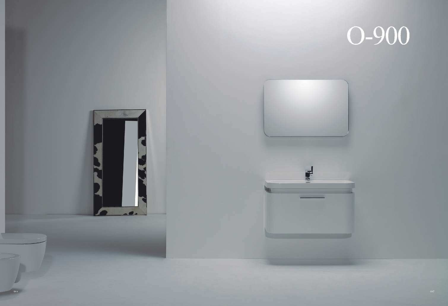 high gloss white mdf bathroom cabinet vanity o 900 china bathroom