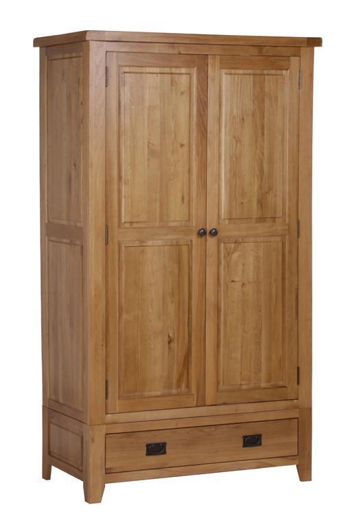 China wooden bedroom furniture wardrobe oak wood