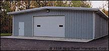 Steel Structure Garage Building