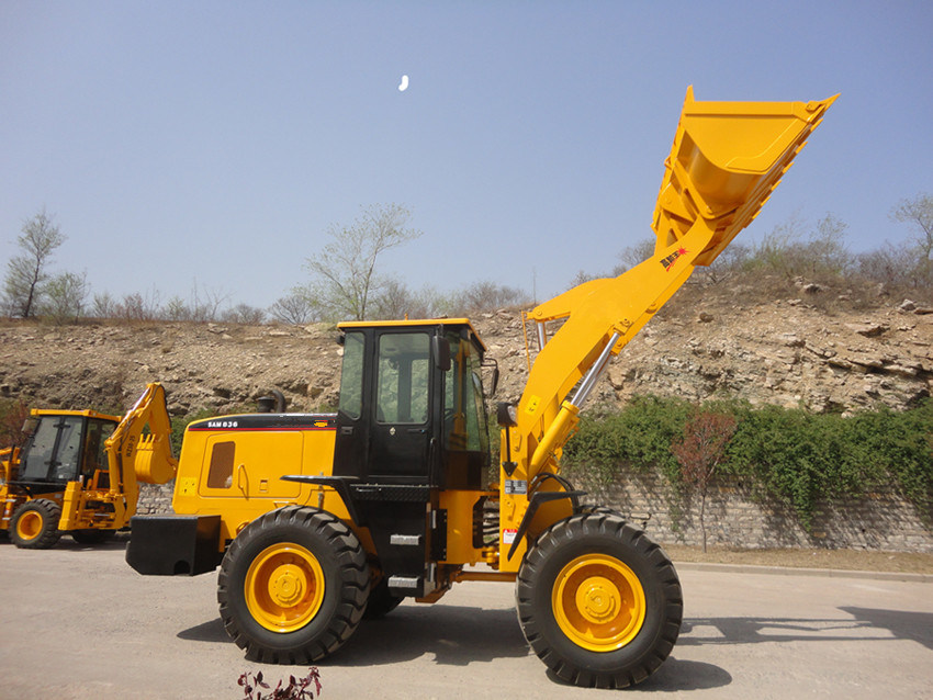 3 Ton /1.7m3/2.5m3/92kw Wheel Loader, Loaders (836)