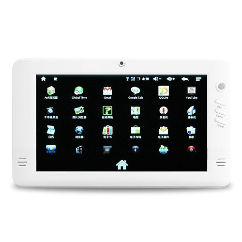 RK2818 7 Inch Google Android 2.1 E-book Camera Gravity Sensor MID