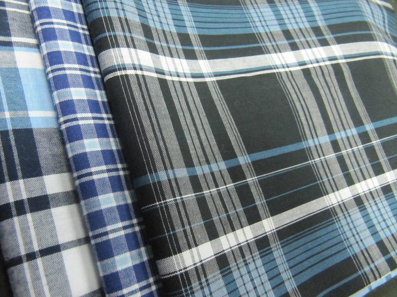 T/C Yarn Dyed Woven Fabrics for Shirt