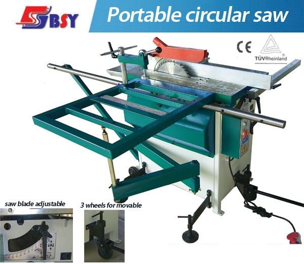 China 3 Wheels Portable Circular Saw Panel Saw Sliding Table Saw China Circular Saw