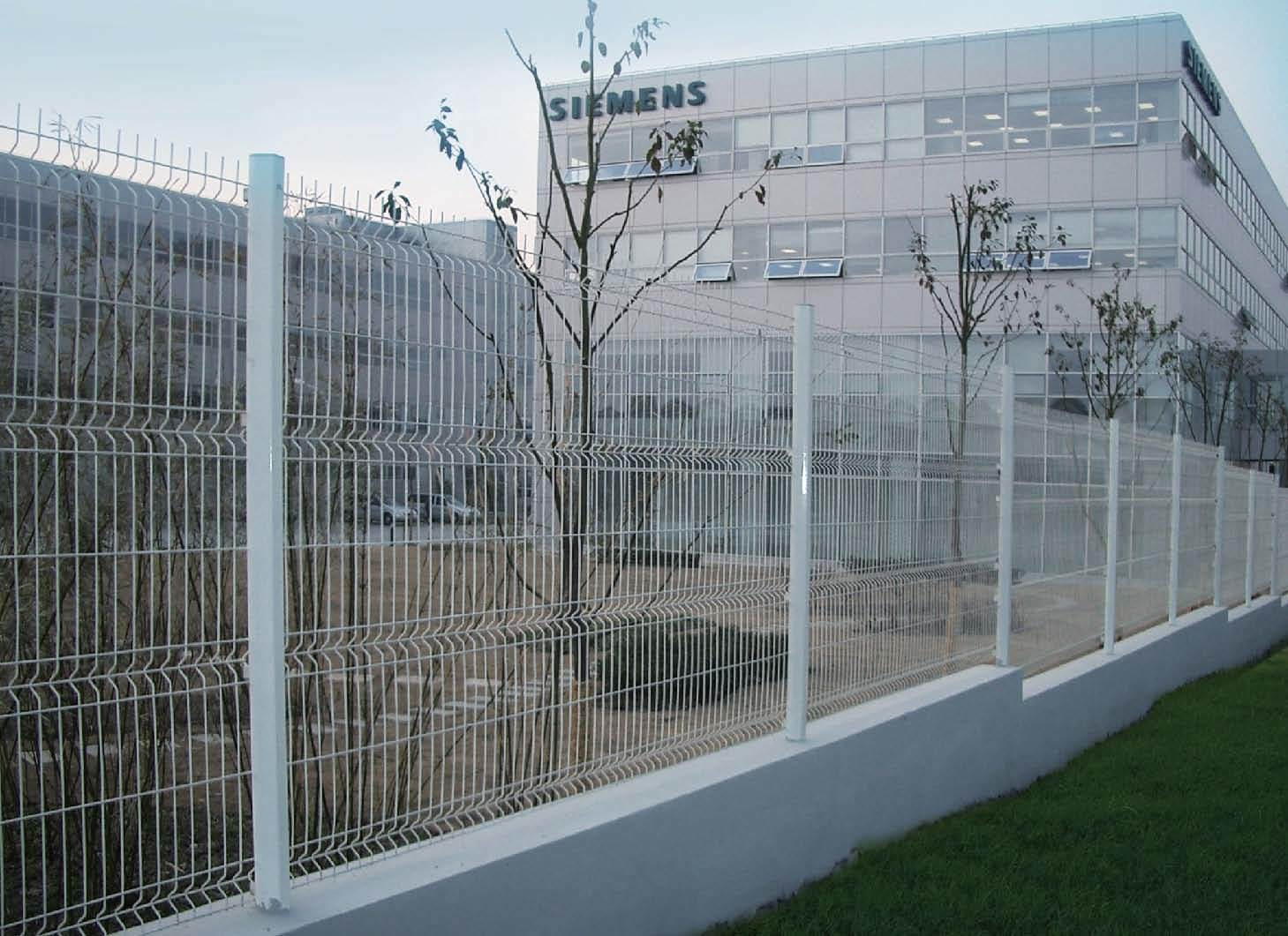 China wire mesh fence steel street
