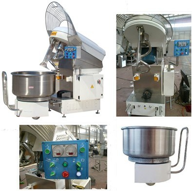 Industrial Heavy Stainless Steel Flour Dough Mixer with Removable Bowl