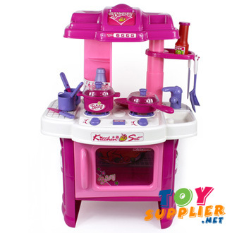China plastic kitchen toy set pk 008 26 china kitchen for Kitchen set 008 82