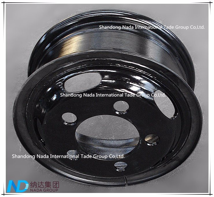 5.5F-16 Tube Rim TBR Truck Steel Wheel with TS16949/ISO9001: 2000